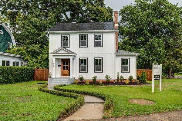Beautiful new home in Richmond VA built by Richmond Hill Design-Build