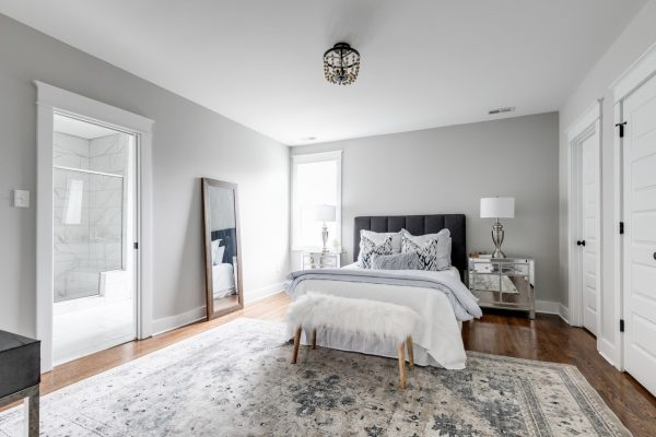 Owner's bedroom in beautiful home by Richmond Hill Design-Build