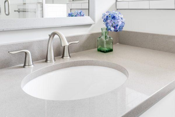 Bathroom in beautiful home in Richmond VA by Richmond Hill Design-Build