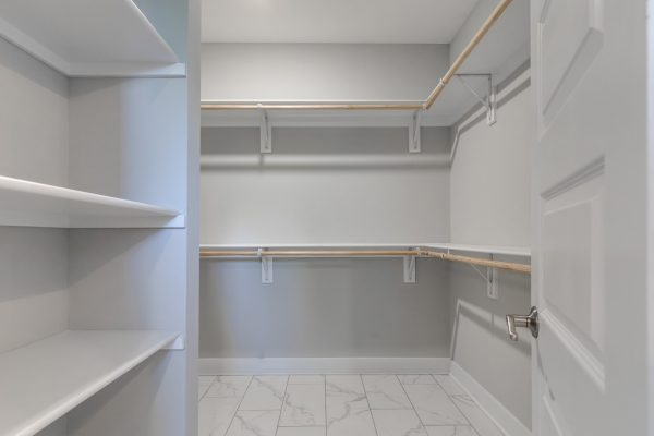Large, walk in closet in home built by Richmond Hill Design-Build