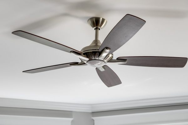 Ceiling fan in renovated home by Richmond Hill Design-Build