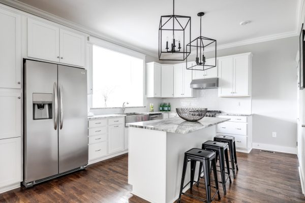 Gorgeous kitchen in renovated home built by Richmond Hill Design-Build