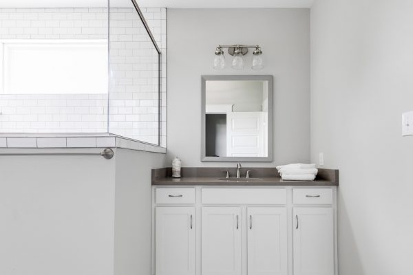 Beautiful bathroom vanity in home built by Richmond Hill Design-Build