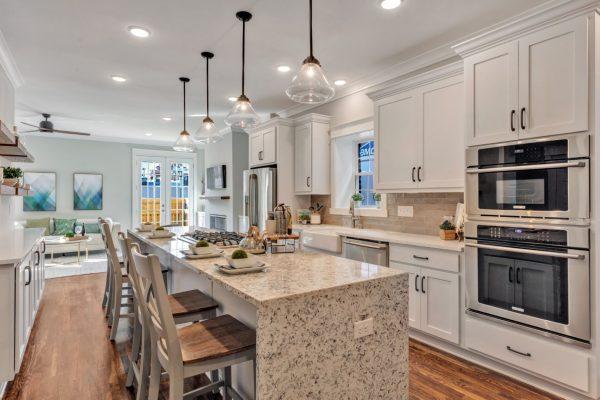 Gorgeous kitchen in home built by Richmond VA by Richmond Hill Design-Build