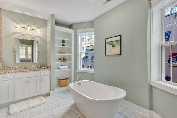 Stunning owner's bathroom by Richmond Hill Design-Build