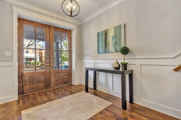 Entryway of home in Richmond VA by Richmond Hill Design-Build