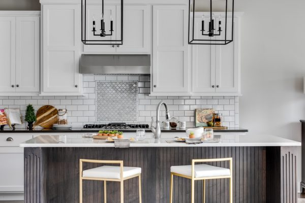 Kitchen in home built by Richmond Hill Design-Build