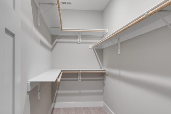 Owner's closet in home built by Richmond Hill Design-Build