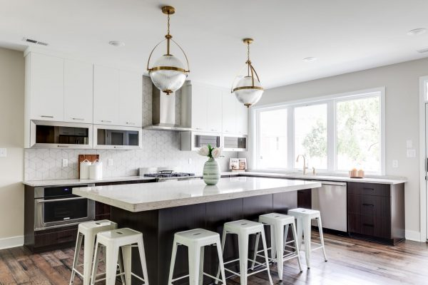 Gorgeous kitchen in new home built by Richmond Hill Design-Build
