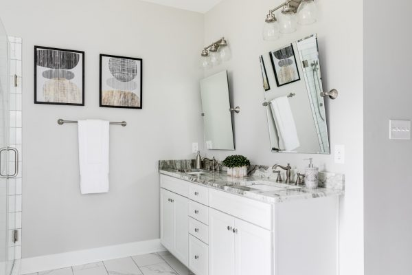 Owner's bathroom in renovated home by Richmond Hill Design-Build