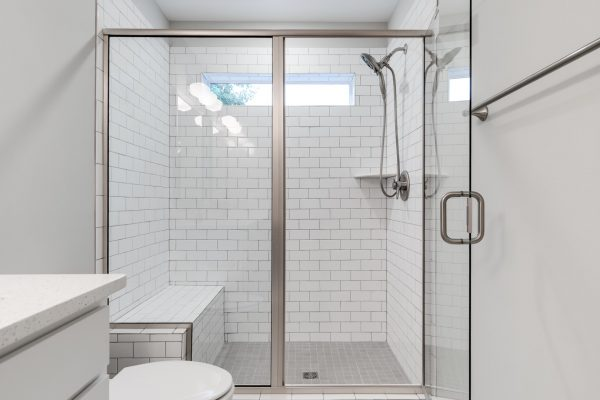 Guest shower in renovated home by Richmond Hill Design-Build