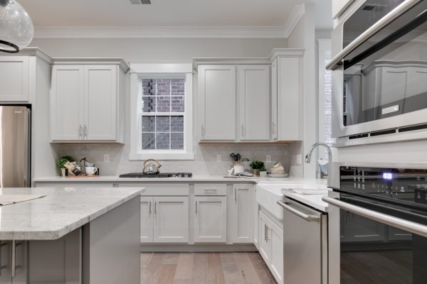 Gorgeous kitchen of new townhouse by Richmond Hill Design-Build