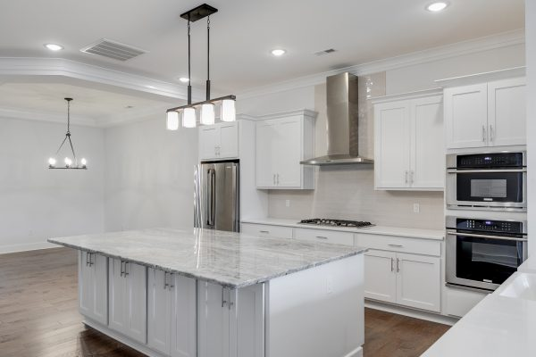 Kitchen in townhouse by Richmond Hill Design-Build