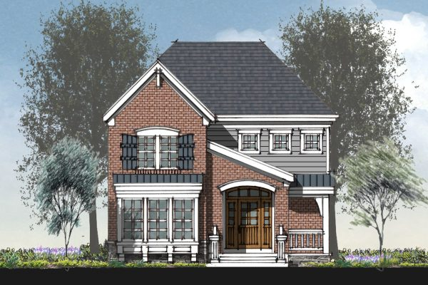 The Addington floor plan by Richmond Hill Design-Build