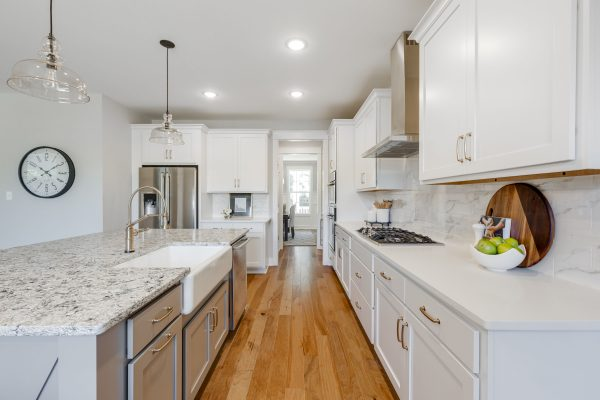 Beautiful kitchen of new home built by Richmond Hill Design-Build