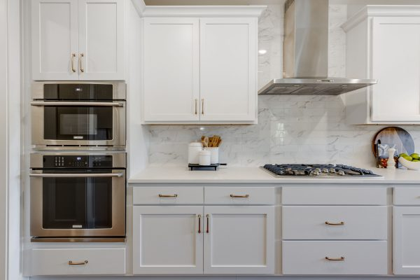 Appliances in kitchen in new home built by Richmond Hill Design-Build
