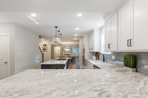 Kitchen in renovated home by Richmond Hill Design-Build