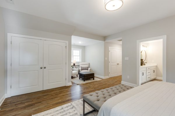 Owner's bedroom in renovated home by Richmond Hill Design-Build