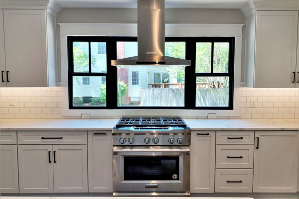 Cooktop and oven in kitchen renovation by Richmond Hill Design-Build