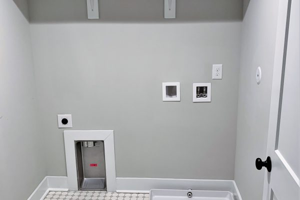 Laundry room in renovation by Richmond Hill Design-Build