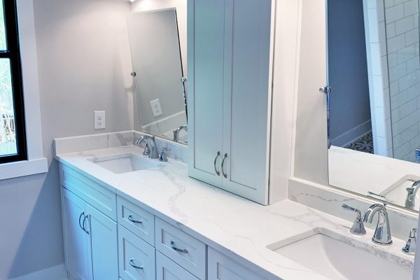 Owner's bathroom in renovation by Richmond Hill Design-Build