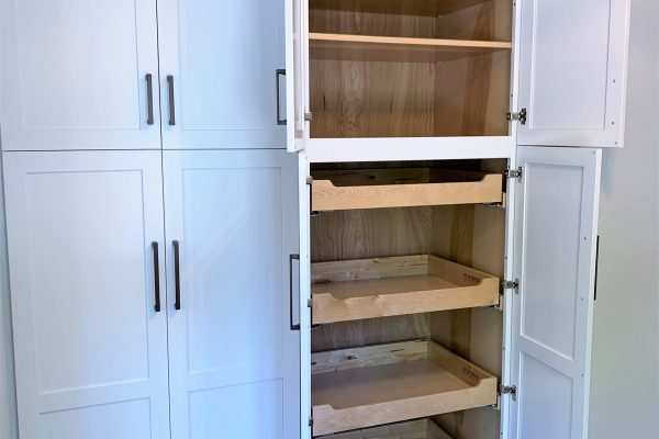 Drawers and storage in kitchen renovation by Richmond Hill Design-Build