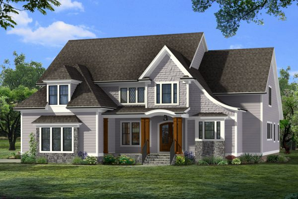 Stunning exterior of home by Richmond Hill Design-Build